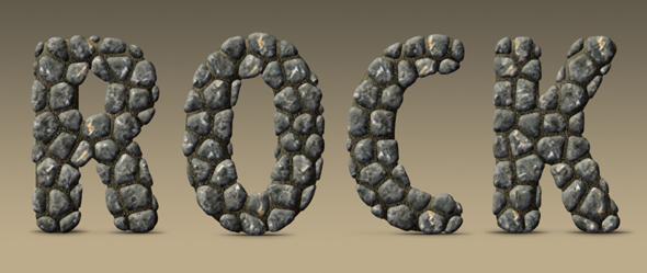 Rock Text